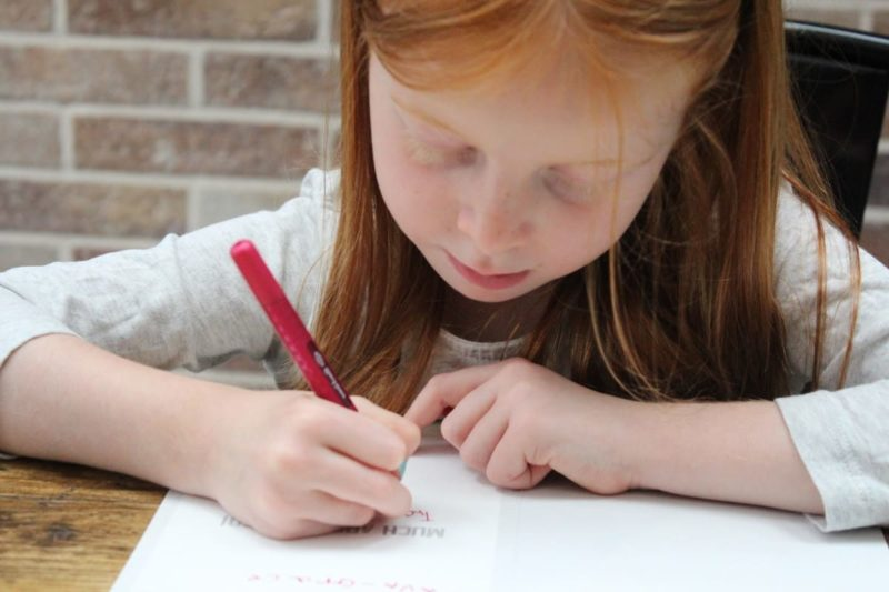 The Importance of Good Sitting Posture for Handwriting